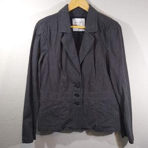 Sonoma Woman's Gray Blazer